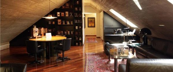 Attic Man Cave Gentlemens Room